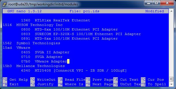 Enabling VMXNET 3 for PXEBOOT and KICKSTART of RHEL Virtual