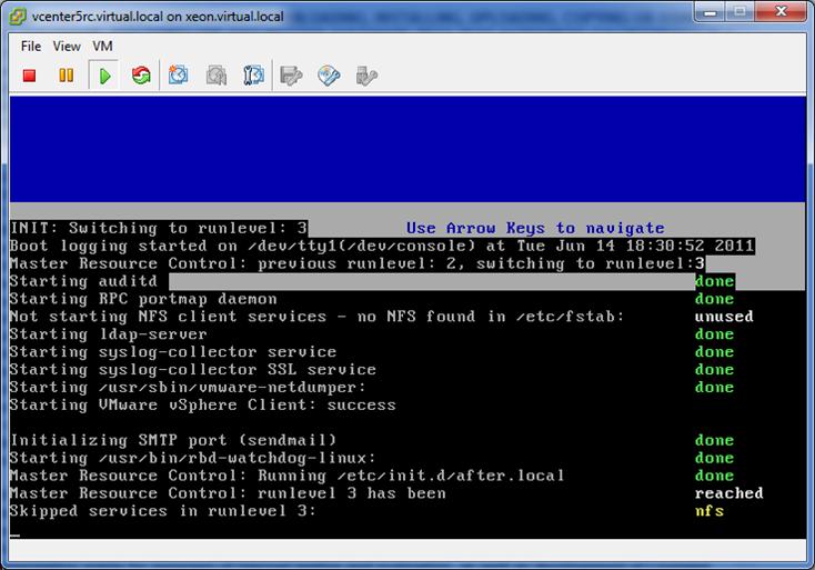 vSphere 5 vCenter Server Virtual Appliance Quick-Start Guide (2/6)