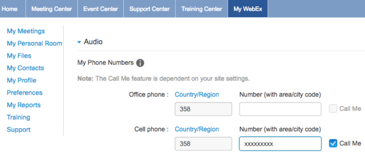 Using FaceTime on your Mac for Conference Calls with Webex